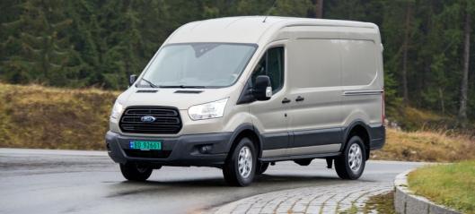 Utsetter WLTP-innføring - kan gi økt varebilavgift