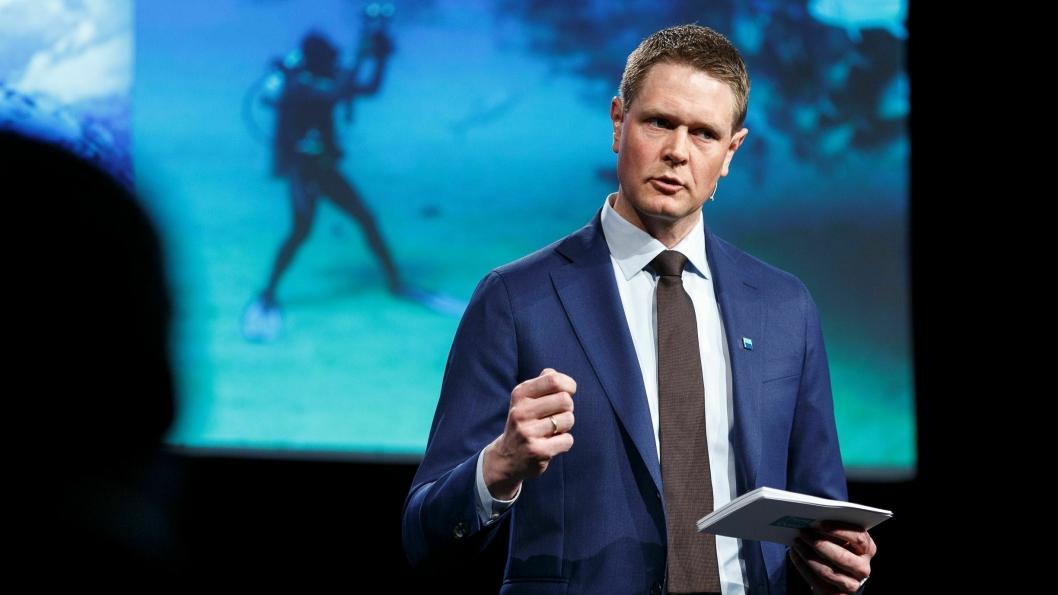 Norges Rederiforbunds administrerende direktør, Harald Solberg. Arkivfoto.