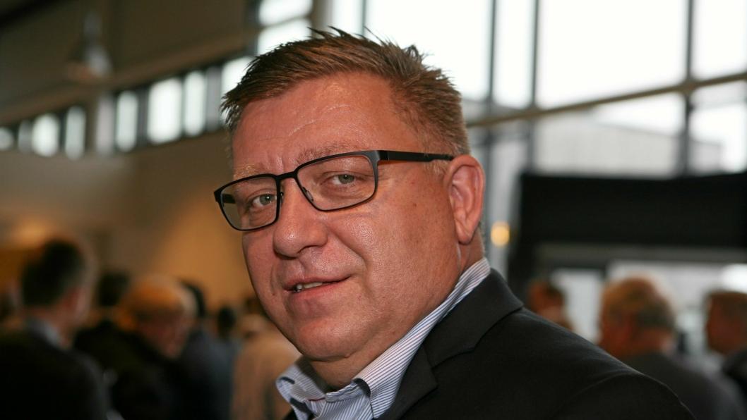 Lastebilgeneral Geir A. Mo reagerer kraftig utspillet fra SV-leder Audun Lysbakken som vil skrinlegge den vedtatte E18-utbyggingen mellom Østfold og Vinterbro. Foto: Per Dagfinn Wolden