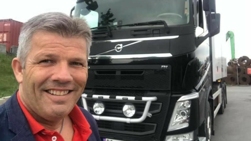 Aps nestleder og lastebilmannen Bjørnar Skjæran vil ha kraftigere lut for å hindre tungbilulykker og sosial dumping.