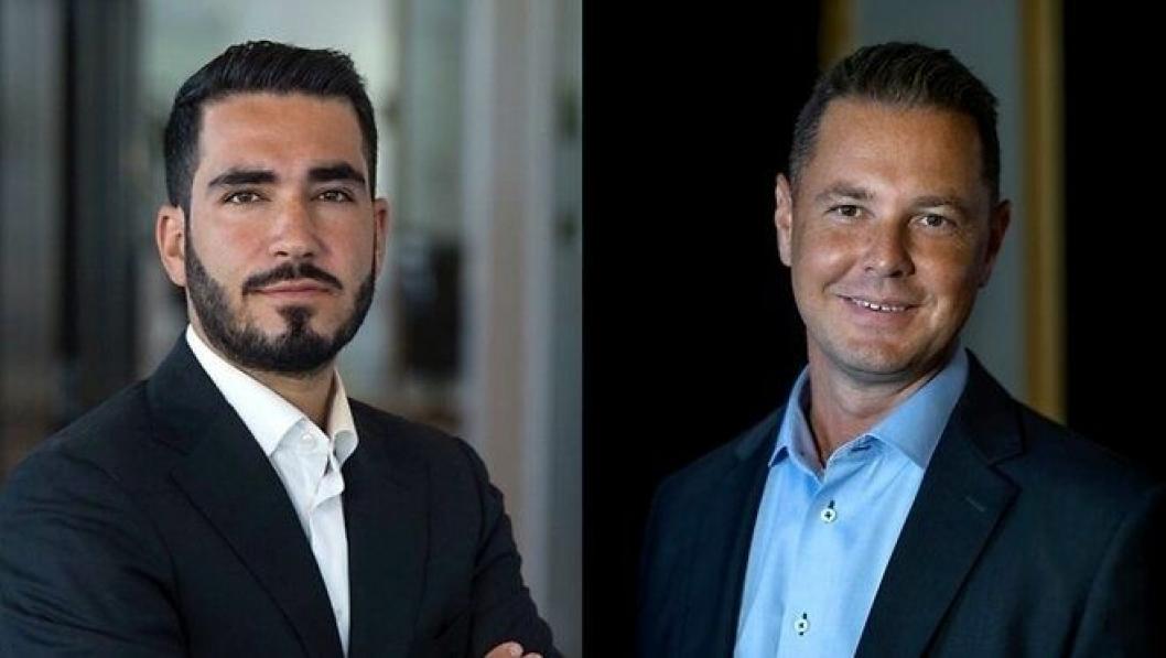 Mani Hemmaty og Sandu Nylmon skal styrke Logistic contractors posisjon i Norge. (Foto: Logistic Contractor)
