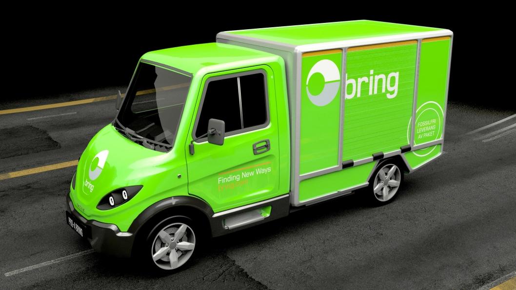 Inzile AB har utviklet en elektrisk lett lastebil/varebil, PRO4, beregnet for lokal transport.
