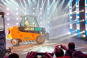 JCB lanserte el-Teletruk