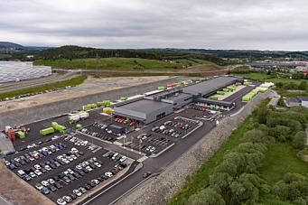 Nytt logistikksenter i Stavanger