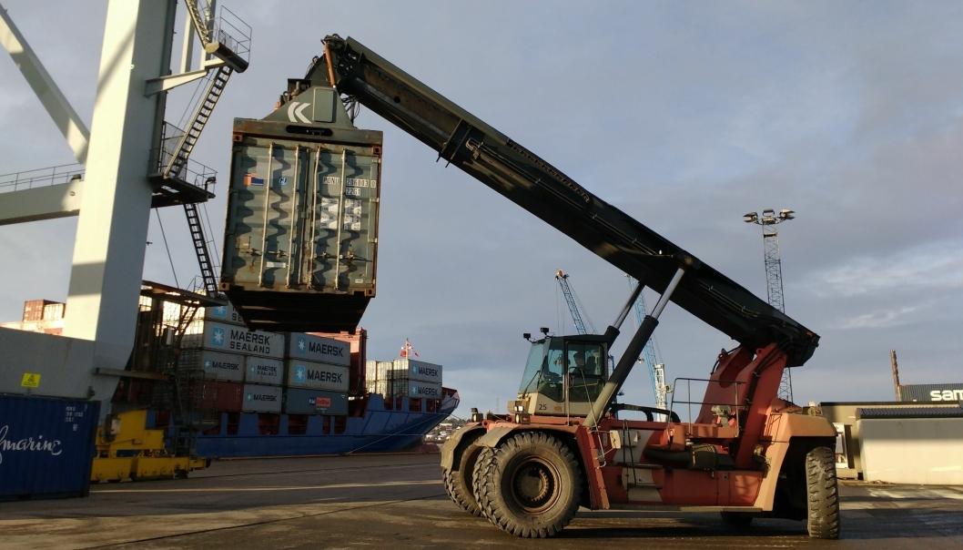 Første gangs behandling av regjeringens forslag til ny havne- og farvannslov, fant sted på Stortinget tirsdag 4. juni. Foto Tove Irén Becker .