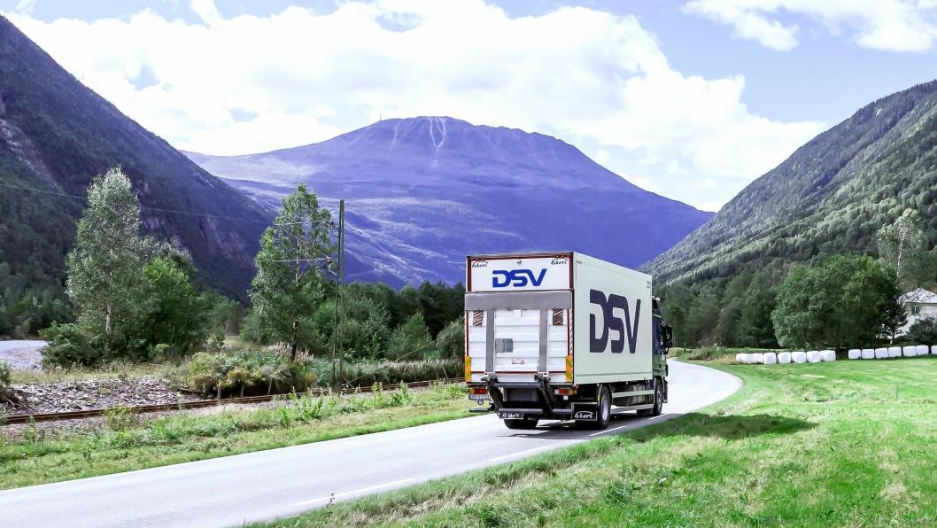 LANDSDEKKENDE: For DSV er det viktig med lokal tilstedeværelse rundt om i landet, selv om administrasjon og lager blir samlet i Vestby.