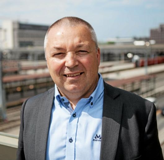 Kjell-Olav Gammelsæter, mener sjøfart har et stort potensial for å redusere norske utslipp.
