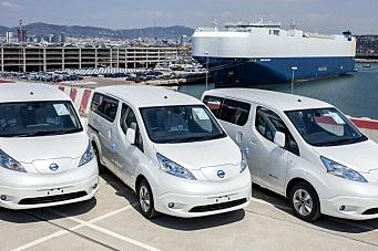 Nissan setter salgsrekord med elektrisk varebil