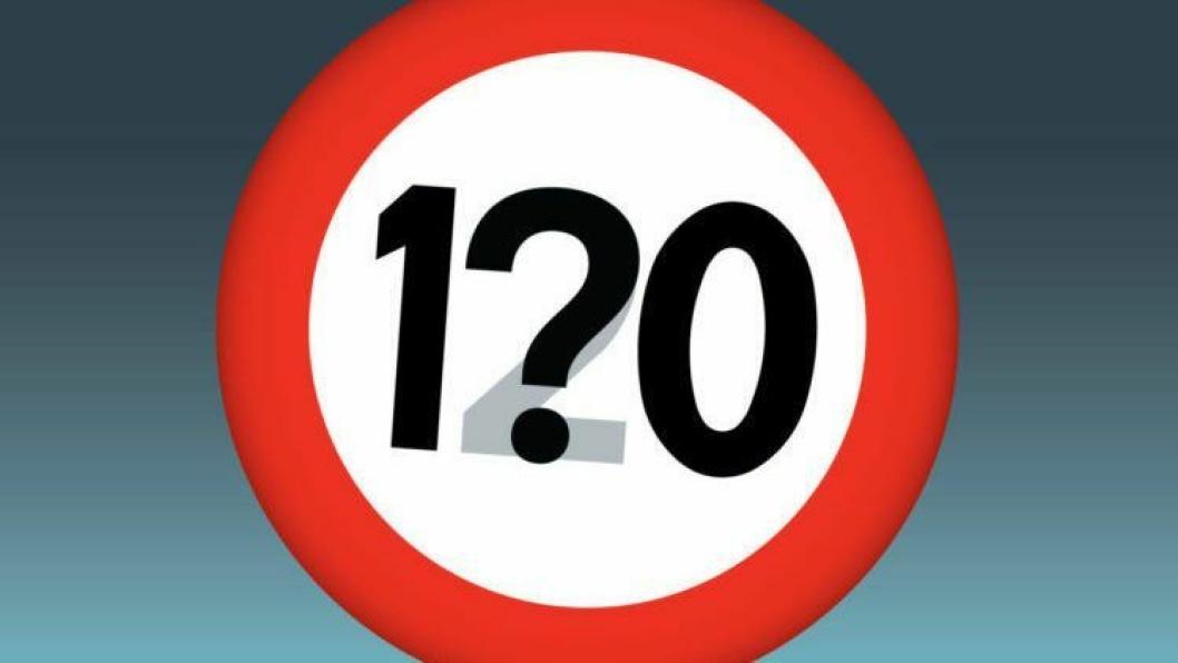 Utbyggingskostnadene øker med 10,5 millioner kilometeren når fartsgrensen skal være 120 km/t i stedet for 110 km/t. (Illustrasjon: Visuell kommunikasjon/Jon Opseth).