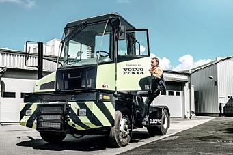 Elektrisk terminaltraktor fra Volvo