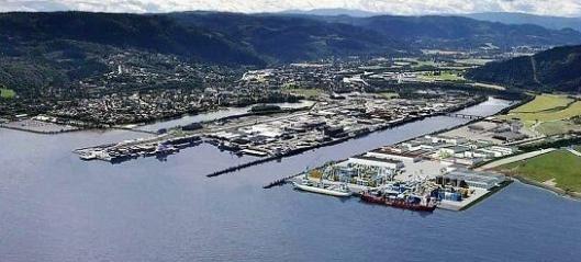 En milepæl for havneutviklingen