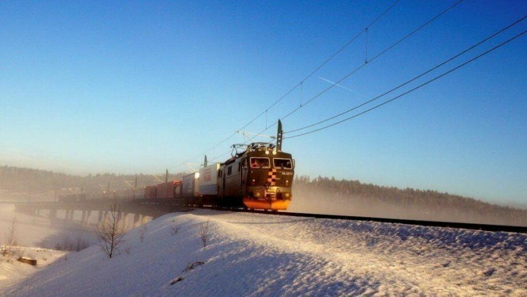 Det koster flesk å bygge skinner for jernbanegodset i Norge.