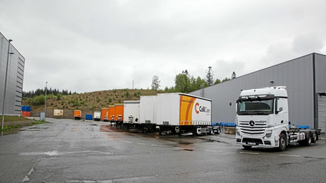 TRANSPORTØRER: Ahlsell bruker ColliCare på Sørlandet, Østlandet, Sogn og Fjordane og Møre og Romsdal, Schenker i Rogaland, Hordaland og Nord-Norge og Nidaros Frakt i Trøndelag.