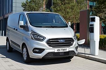 Ford klarte 75 prosent elektrisk drift i London sentrum