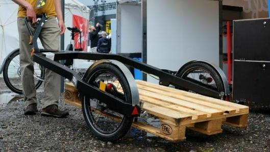 Bicylift fra franske Flexi-modal gikk til topps i kategorien for tilhengere.