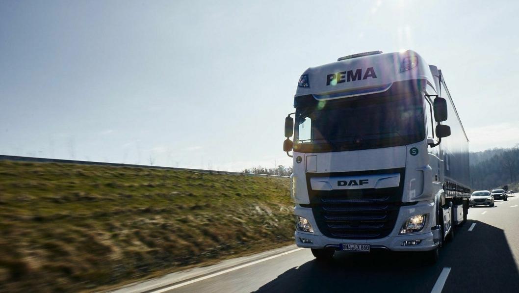 PEMA har rundt 20.000 kjøretøy og tilhengere og et svært godt utbygget verkstednettverk.