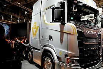 Scania har klampen i bånn