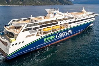 Klart for Color Lines hybrid-ferge