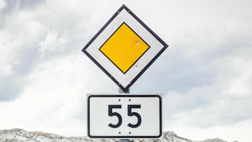 Mange veier i i Norge får nye nummer.