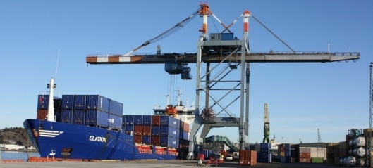 Containerveksten over Larvik fortsetter