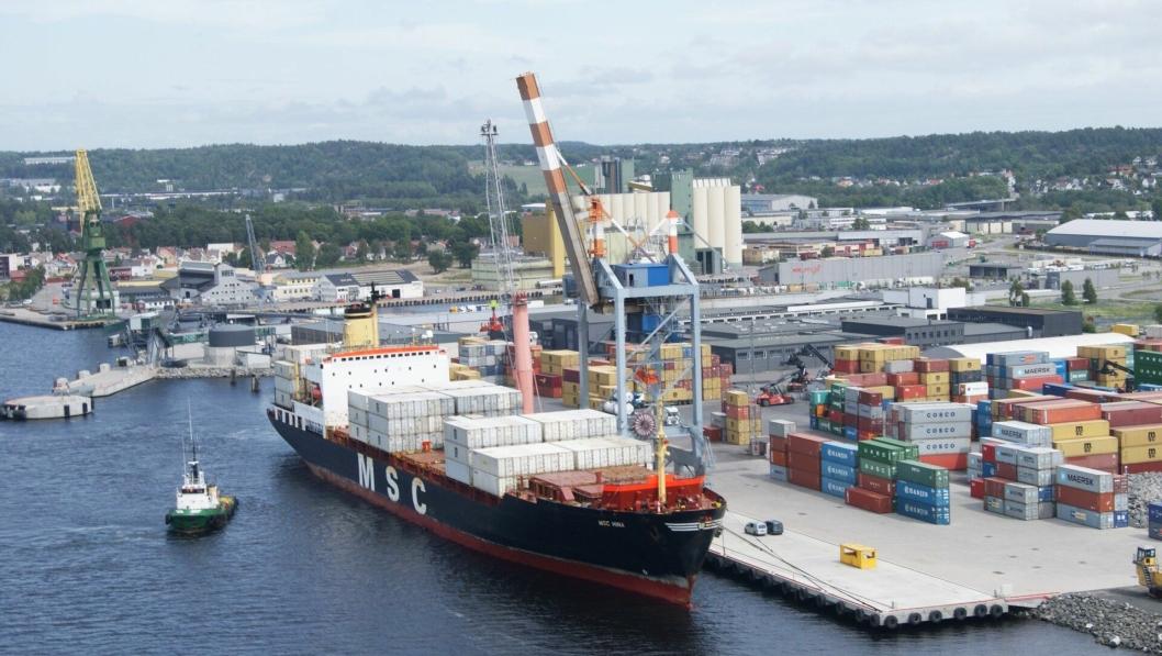 Larvik Havn KF har ansatt miljø- og utviklingssjef i nyopprettet stilling. Foto: Larvik Havn KF.