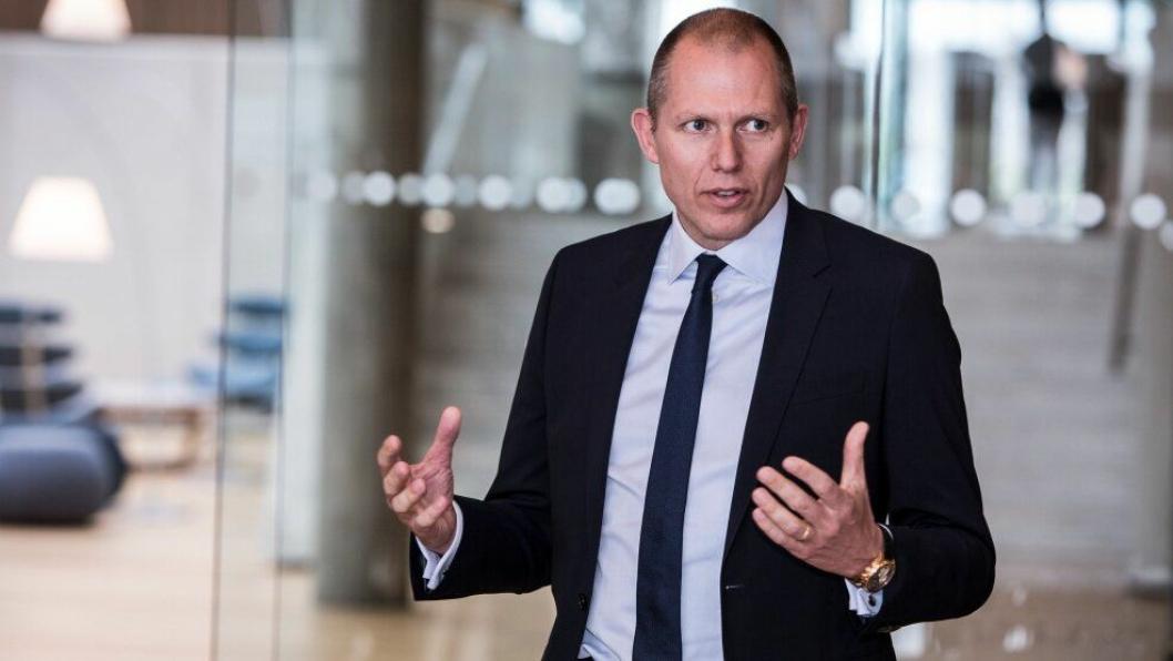 Jens Bjørn Andersen er CEO i DSV, og gleder seg til å utnytte synergier på rundt tre milliarder kroner årlig etter oppkjøpet.