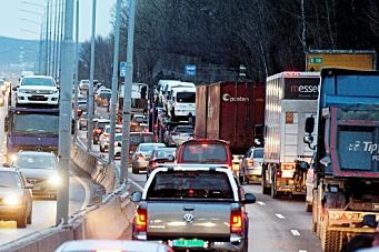 Hver femte «bil» på veien er en godstransport