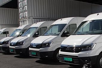 Støtter kjøp av el-varebiler