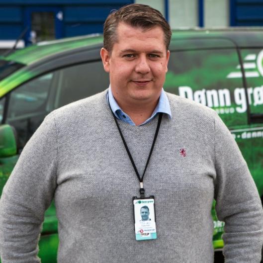 Tore Alm er salgs- og markedssjef i Transport-Formidlingen SA, som står bak Dønn Grønn.