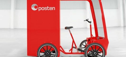 Nye el-sykler til Posten