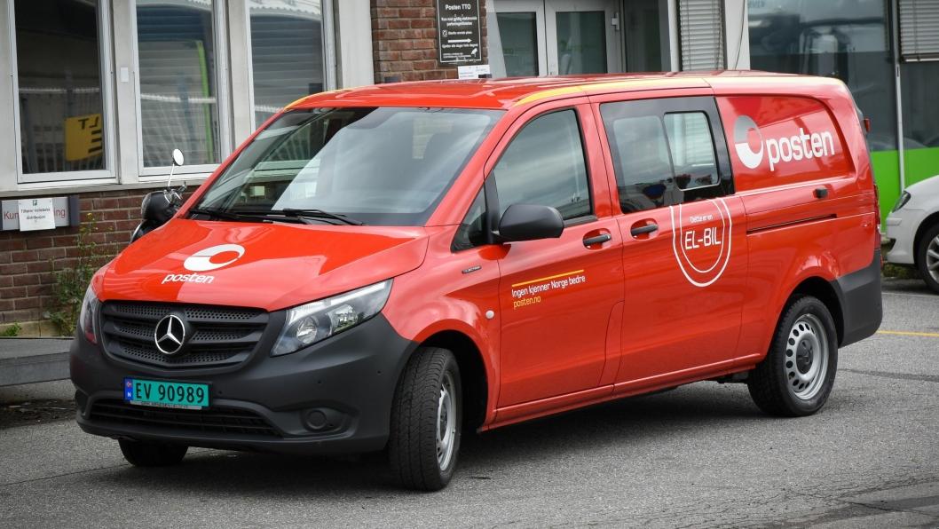 MB eVito har en oppgitt rekkevidde på 150 kilometer etter den nye WLTP-standarden.