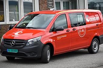 Posten kjøper el-Mercedes