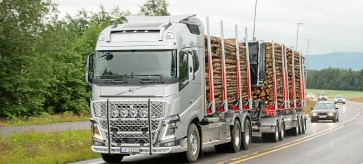Solid løft for tungtransporten
