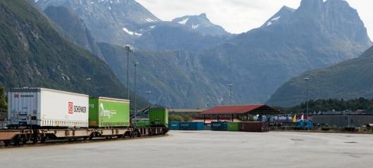 Håper på ny godsgiv på Raumabanen