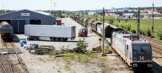 Vil utvide godstogsuksessen på Rolvsøy