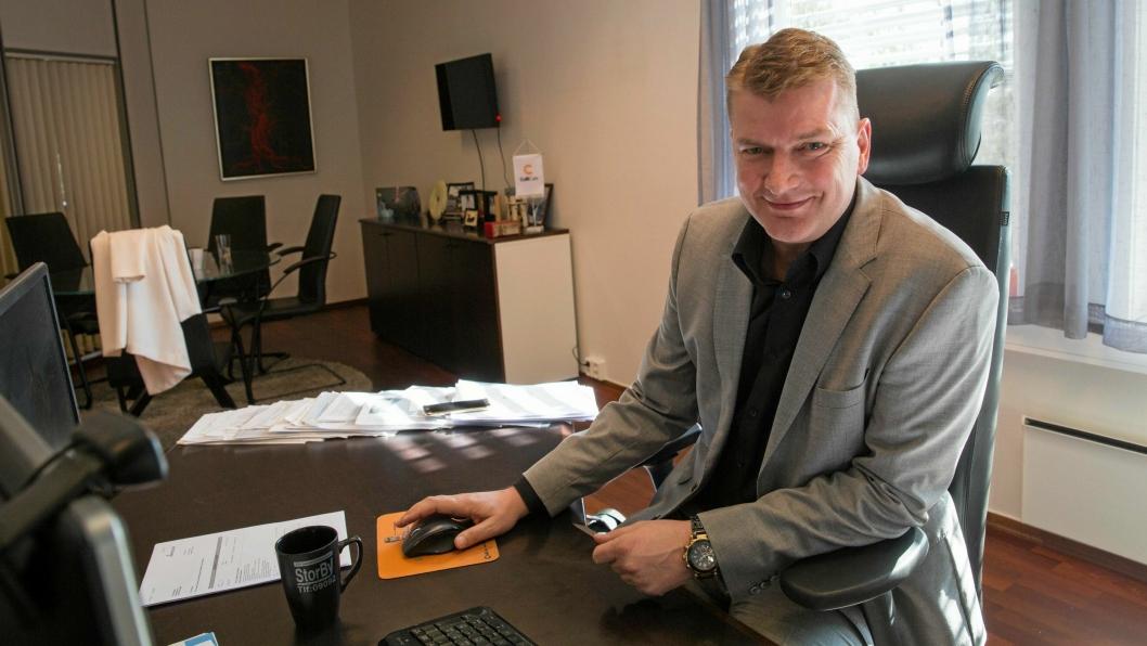 Knut Sollund, styreleder i Viasea Shipping og CEO i ColliCare.