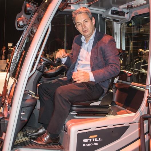 Alan Sølvsten har salgsdirektør for Norden, UK og Benelux, og gleder seg til å kunne tilby nye RX60 til det norske markedet.