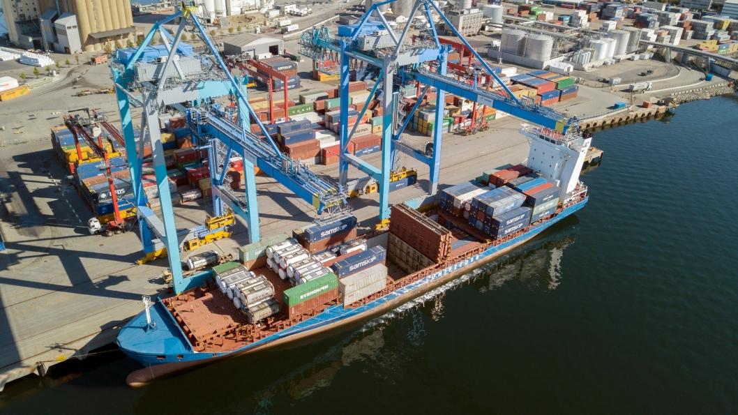 Containertrafikken i Oslo Havn har økt med nesten 13 prosent første halvår.