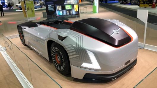 Volvo stiller også ut den elektriske og autonome Vera på Norges Varemesse.