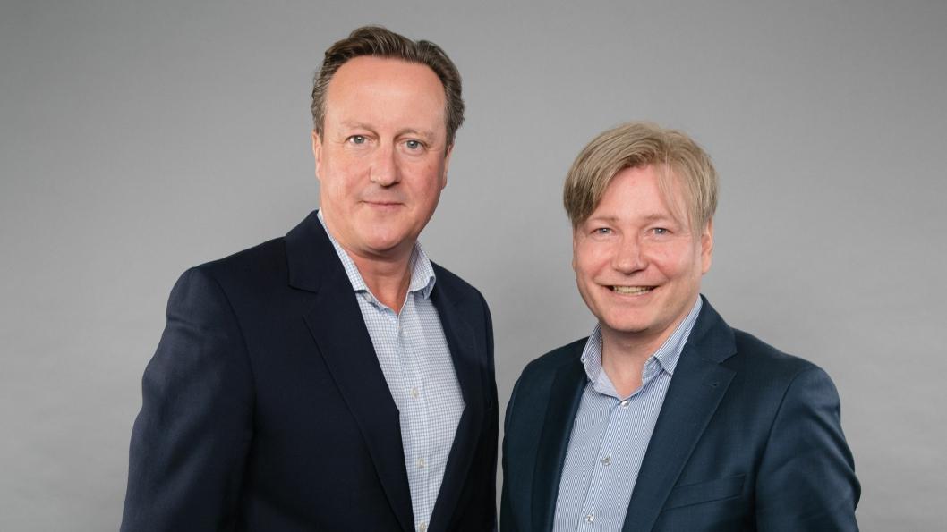 PostNords og norsk transport- og logistikks, Ole Andreas Hagen, hadde nylig æren av å møte David Cameron.