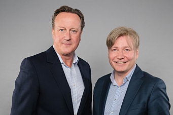 David Cameron møtte PostNord