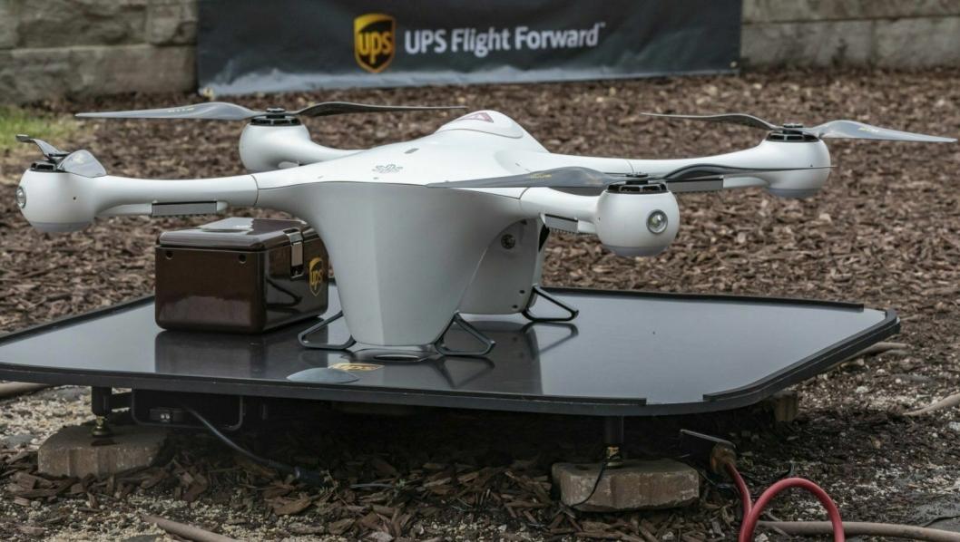 I et halvt år har UPS fraktet medisinske prøver med drone internt på et sykehus. Nå har de fått utvidet tillatelse til å spre konseptet.
