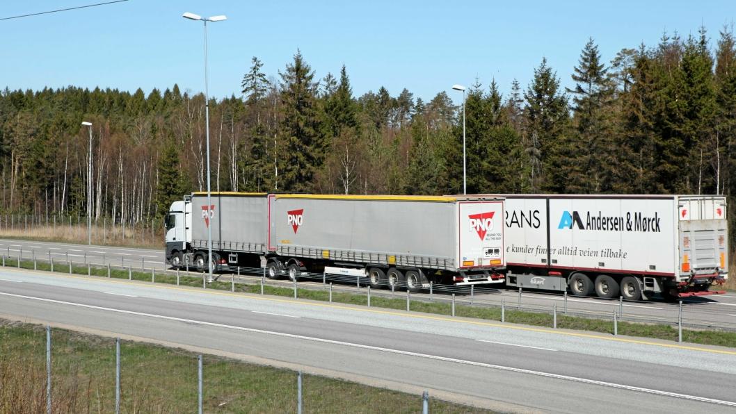25,25: Det åpner seg stadig flere muligheter for modulvogntog i Norge.
