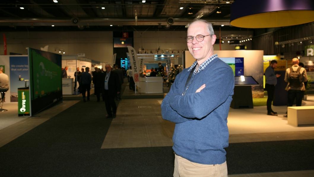 Lars Bergström og SweDock er på full fart inn i det norske markedet. Vi møtte eieren og styrelederen i Falun-selskapet på Transport og Logistikk nylig. Foto: Per Dagfinn Wolden