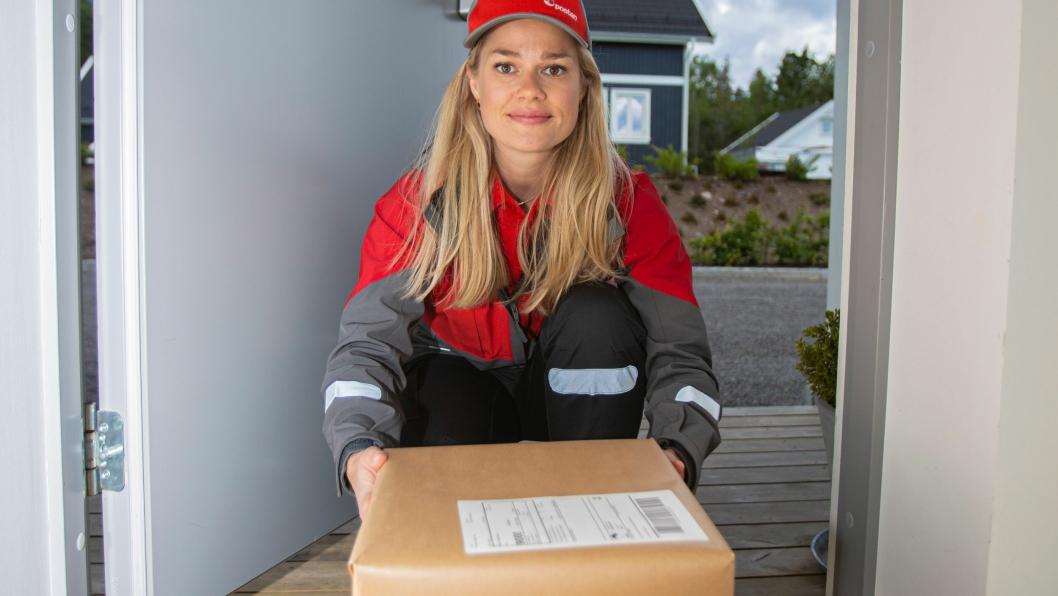Nå kan Posten levere pakker innenfor døren din.