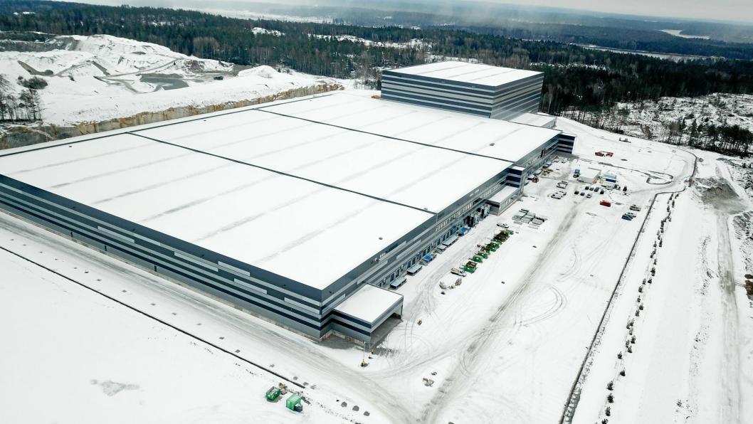 Europris håndterer i dag vareforsyningen fra flere lagre, som er i ferd med å bli erstattet av et automatisert sentrallager ved Moss.