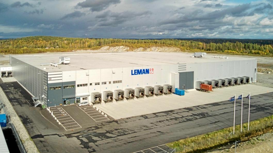 Lemans nye anlegg i Vestby åpnet i 2018. Nå skal det utvides.