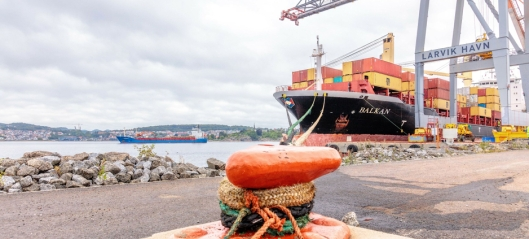 Vekst for Norges nest største containerhavn