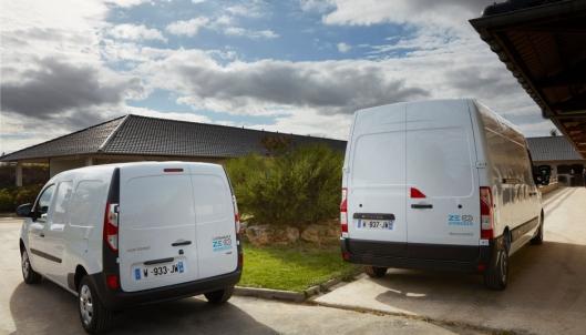 Renault har som mål å være et ledende selskap på hydrogen i varebilsegmentet.