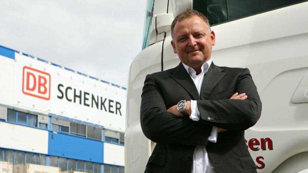 Peter Stangeland er stolt av å representere Schenker som miljøambassadør i Oslos europeiske miljøhovedstads år. Foto: Per Dagfinn Wolden